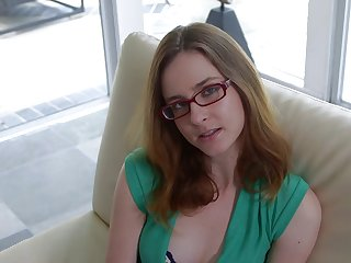 Blowjob By Chick With Glasses 720