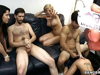 Hardcore Group Fuck With Jenny Hendrix Rachel Roxxx And Madison Ivy Having Pounded Hard In Various Positions
