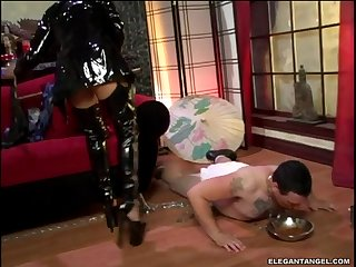 Mika Tan And Her Slave Hardcore