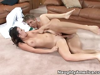 Busty Whore Lindy Lane Gets Poked From Behind