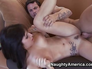 Busted Whore April Oneil Getting Poked Hard While She Is On Top And Later She Is Thrusted From Behind