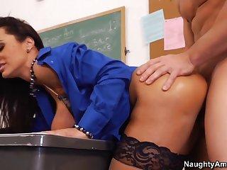 Lisa Ann Johnny Castle In My First Sex Teacher