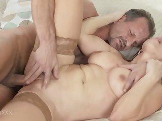Fingering Her Moist Cunt