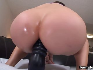 Asian Porn Star Fucked In The Ass By Big