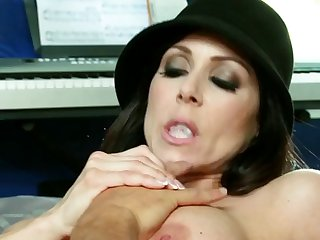 Stunning Brunette Kendra Lust Gets Her Body Fondled
